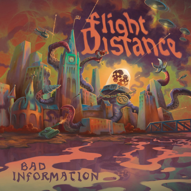 Bad Information by Flight Distance is out on vinyl!