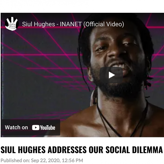 Hip Hop DX shares Siul Hughes's INANET video!