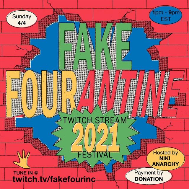 Fake Four presents: Fake Fourantine 2021, A Livestream Festival